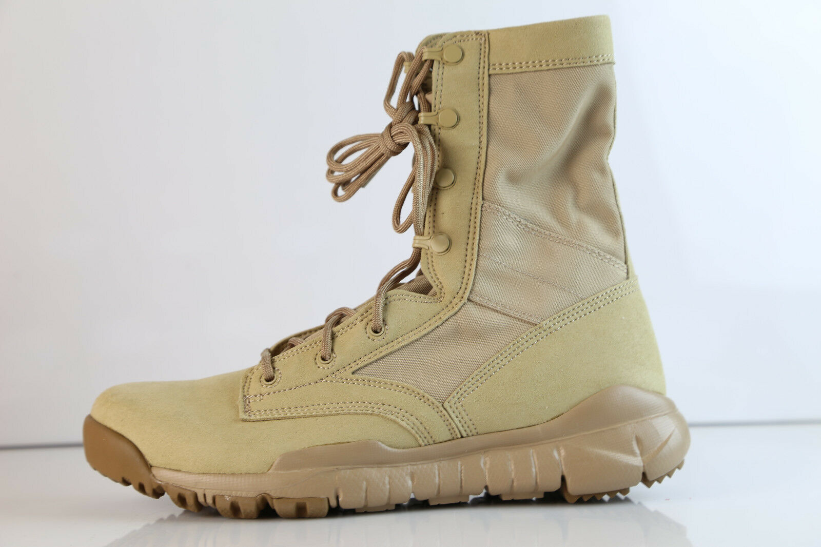 Nike SFB British Khaki Desert Boot 329798-221 8-14 special forces 2.0 suede
