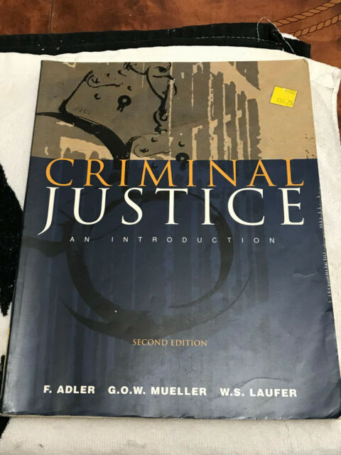 CRIMINAL JUSTICE AN INTRODUCTION SECOND EDITION SOFT COVER EDUCATIONAL BOOK