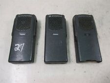 Lot Of 3 Motorola Pr860 Aah45kdc9aa3an 2 Way Radio Handsets