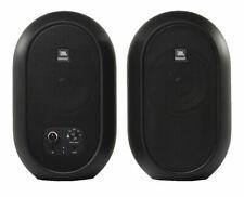 JBL 104-BT Black Powered Monitor Desktop Active Speaker Pair w/ Bluetooth (Pair)