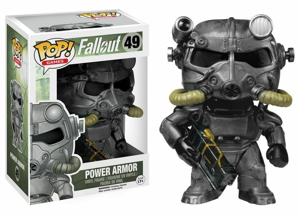 Funko POP   Vinyl Power Armor Bredherhood of Steel Fallout 4 new