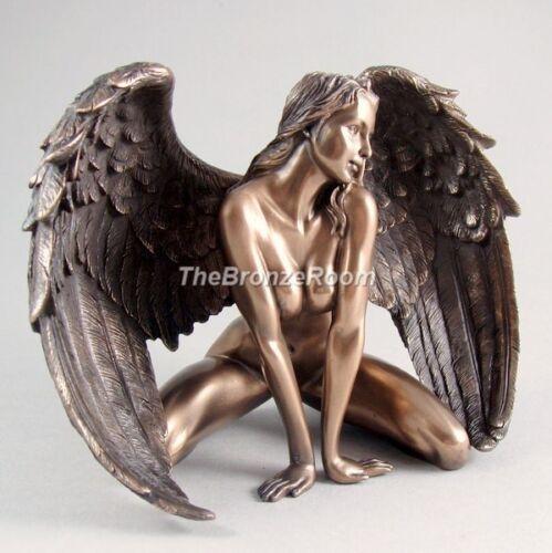 Appassionata Angel-Bronzo Ornamento Scultura Figurina