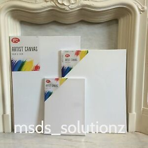 100-COTTON-ARTIST-PLAIN-WHITE-STRETCHED-PAINTING-CANVAS-ACRYLIC-FRAMED-SKETCH