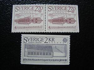 Suede-Briefmarke-Yvert-Und-Tellier-N-1310-1311a-Nsg-A22-Briefmarke-Sweden