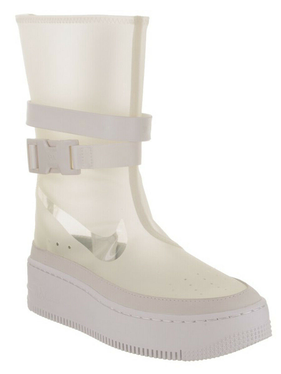 sports shoes 65c2d 02720 Nike Womens AF1 Sage HI LX Boot Clear w Carry Carry Carry ...