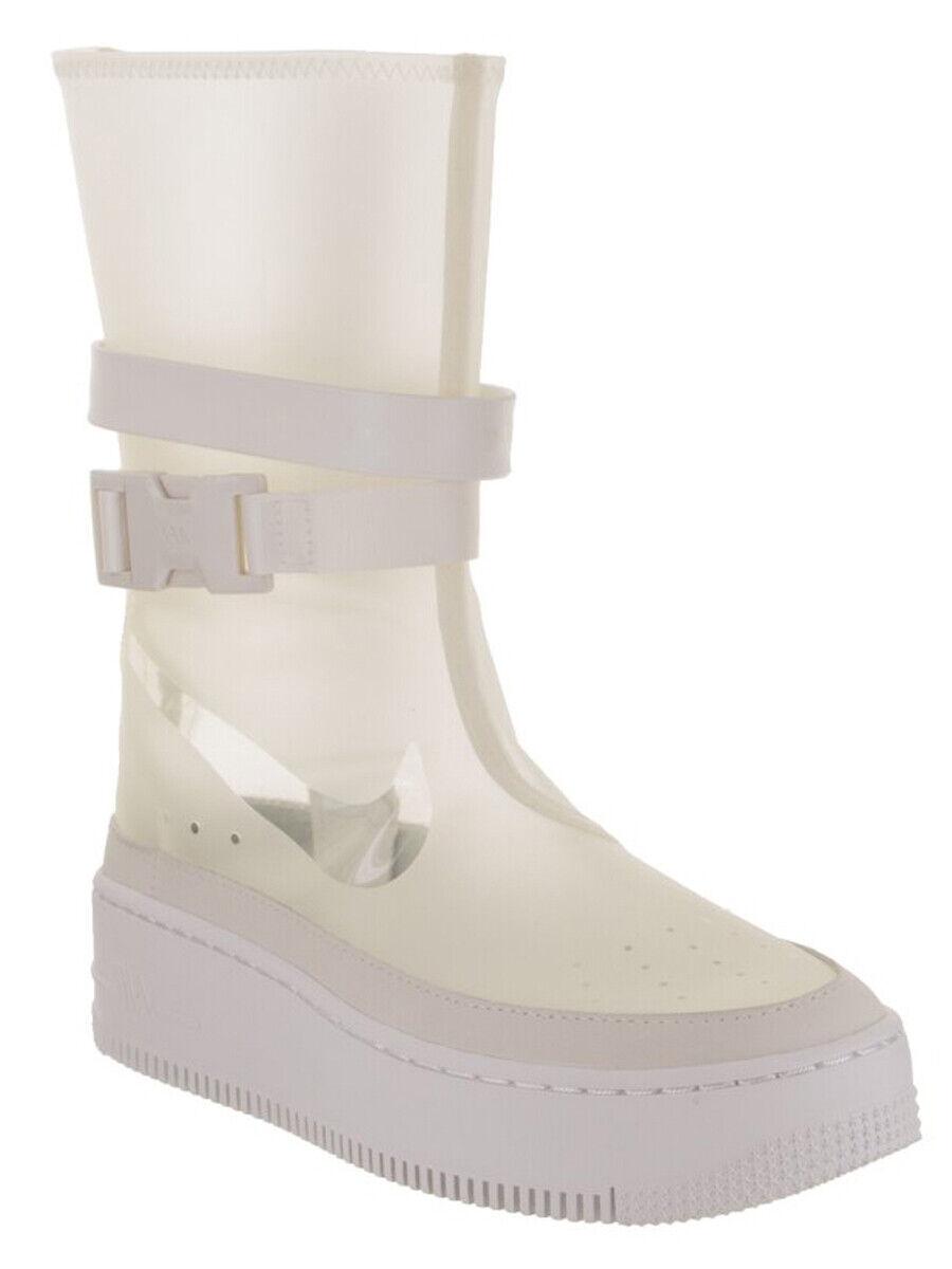 Nike kvinnor AF1 Sage HI LX Boot Clear w  bilry väska BQ4805 001