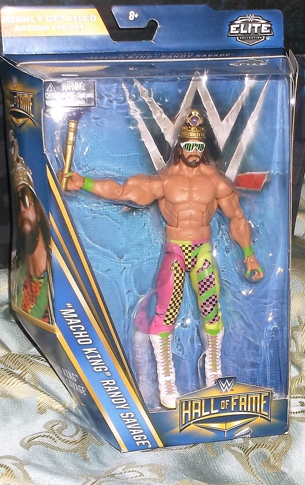2016 Mattel WWE Elite HOF 2015 'Macho King' Randy Savage 6 inch Wrestling figure