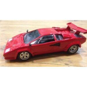 LAMBOURGHINI-Countach-rojo-modelo-coches-escala-1-43-nuevo-Y-Sellado