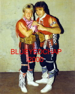ROCK /& ROLL EXPRESS GIBSON /& MORTON  WRESTLER  8 X 10 WRESTLING PHOTO NWA