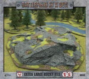 Battlefield-in-a-Box-Extra-Large-Rocky-Hill-15mm-28mm-35mm-Terrain-Rock-Terrain