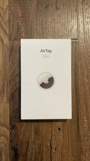 Brand New Sealed Apple AirTag (4-Pack) Silver MX542AM/A