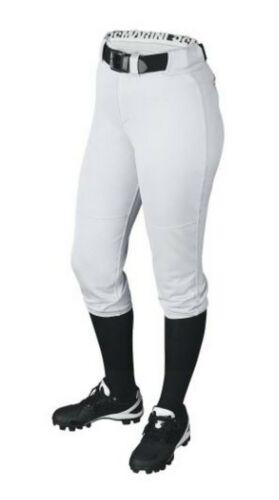 Demarini Fierce Fastpitch Softball Pants Women/'s Knicker Belt Loop WTD3040