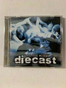 Diecast-Undo-The-Wicked-Cd-Rare-BOSTON-HARDCORE-METAL-Jason-Costa-ALLTHATREMAINS