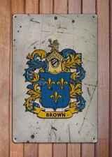 Hampton Coat of Arms A4 Aged Retro 10x8 Metal Sign Aluminium Heraldry