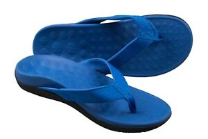 Pro11-Wellbeing-orthotic-sandals-arch-support-plantar-Fasciitis-heel-pain-BLUE
