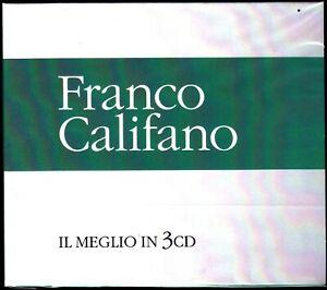 3-CD-Box-Cofanetto-FRANCO-CALIFANO-IL-MEGLIO-THE-BEST-I-SUCCESSI-nuovo