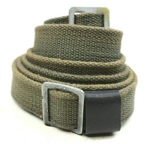 GENUINE-DDR-EAST-GERMAN-WEAPON-CARRYING-STRAP-SLING-ORIGINAL-USED-AUC