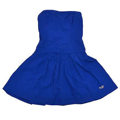 Hollister Dress Womens Solid Summer Bettys Seagull Logo Sundress V082