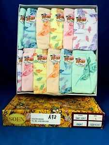 So-En Josefina Original Philippines Girls Panties Size S 21-23in 6-Pack SOEN