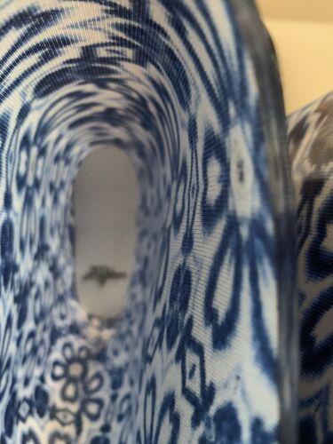 Details about  /Rain /& Garden Boots Blue White Floral Women Size 9 New
