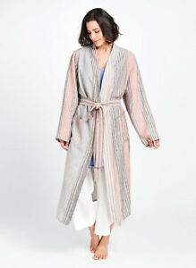 FLAX-Designs-LINEN-ROBE-Jacket-M-L-1G-2G-3G-NWT-The-Wrapper