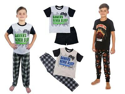 Boys Gamer On Duty Gaming Long Pyjamas Cotton