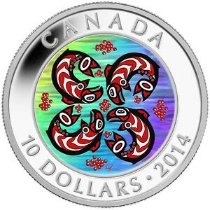 2014-10-First-Nations-Art-Salmon-Pure-Silver-Coin