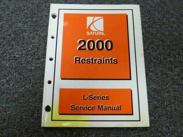2000 Saturn L100 L200 L300 Lw200 Lw300 Restraints Shop