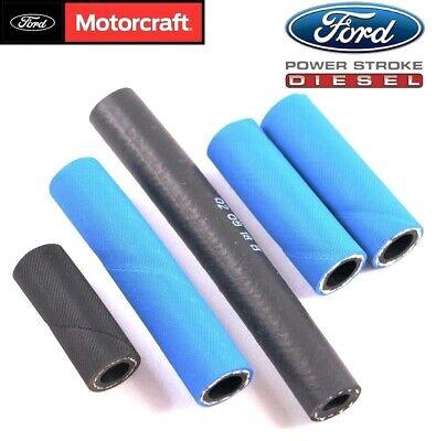 7.3 diesel powerstroke fuel filter lift pump hose lines 94-97 ford f250 f350  oem | ebay  ebay