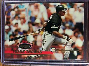 Frank Thomas Baseball Card #200 Topps Stadium Club Chicago White Sox MLB HOF
