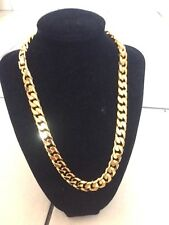 "3D 20"" SG1204 Chain Necklace 18K Gold Filled No Stone, Valentine Birthday Gift"