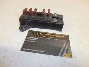 92 suzuki gsx 600 gsx600f katana genuine main fuse ... 2008 suzuki sx4 fuse box location #14