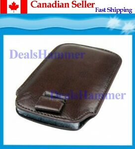 Leather-Case-For-IPHONE-3G-3GS-4G-IPOD-Brown-SHIP-FROM-CANADA
