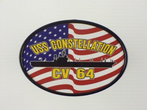 USS CONSTELLATION CV 64 CVA 64 Hitch Cover Military USN U S Navy