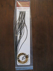 Whiting Olive Grizzly Dry Fly Saddle Hackle Sized for Fly Tying You Choose NEW!
