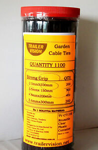 1100-Black-Cable-Ties-in-Clear-Container