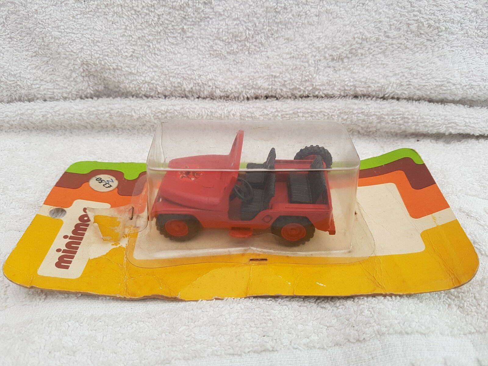 Minimac brazil ford fire jeep in very good condition