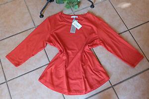 SERENA MALIN Damen Shirt Stretch Gr. 46 NEU! rot Baumwolle Modal   eBay bfe9c5d6d3
