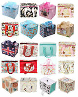 Childrens Kids Lunch Bags Insulated Cool Bag Picnic Bags School Lunchbox 27 Bags