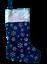 Heureux cadeaux Sacs Stocking ELF vintage de Hesse Noël Santa Sac Jute Style