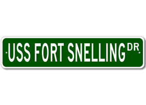 USS-FORT-SNELLING-LSD-30-Ship-Navy-Sailor-Metal-Street-Sign-Aluminum