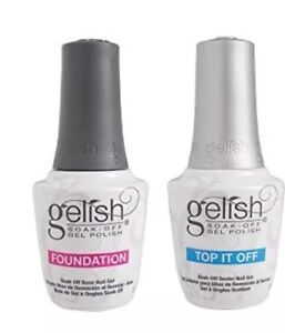 Harmony-Gelish-Soak-Off-Foundation-BASE-TOP-It-Off-DUO-0-5oz-New-Packaging