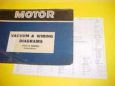 1970 1971 1972 1973 1974 Dodge Challenger R T Se Rallye Vacuum Wiring Diagrams Ebay