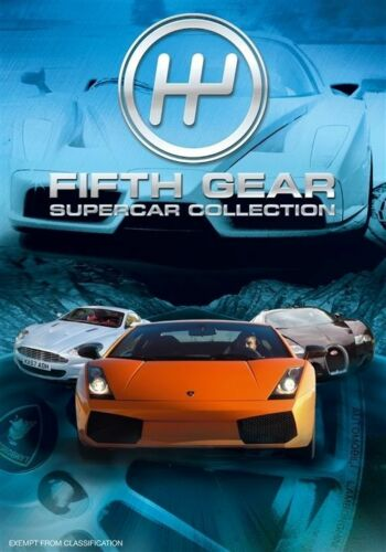1 of 1 - Fifth Gear Supercar Special (DVD, 2009)-REGION 4-Brand new-Free postage