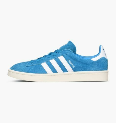 Brand New ADIDAS UK CAMPUS Suede Aqua blue White Trainers UK ADIDAS size 8 98ef83