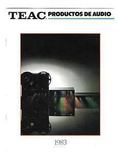 TEAC-CATALOGO-GENERAL-1983-ESPANOL-CATALOGO-ARIGINAL