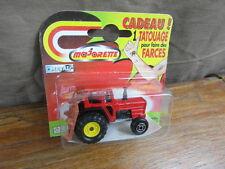 (S3) MAJORETTE 200 CARD BLISTER 1991 Thailand : TRACTEUR AGRICOLE TRACTOR
