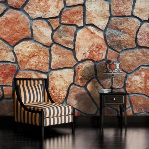 Sepia Piedra mosaico Empapelado Fotográfico Mural para Pared 642VE
