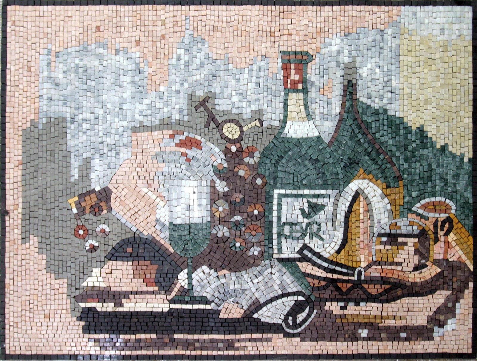 Food Beverage Drink Kitchen Design Home Decor Marble Mosaic GEO1019