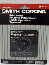 Vintage Printwheel Regency 10courier 10 Smith Corona H Series New Amp Sealed